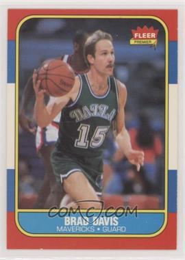 1986-87 Fleer - [Base] #22 - Brad Davis [EXtoNM]