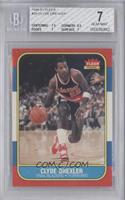 Clyde Drexler [BGS 7 NEAR MINT]