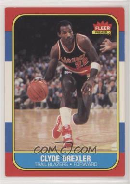 1986-87 Fleer - [Base] #26 - Clyde Drexler