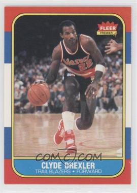 1986-87 Fleer - [Base] #26 - Clyde Drexler