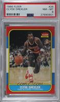 Clyde Drexler [PSA 8 NM‑MT]