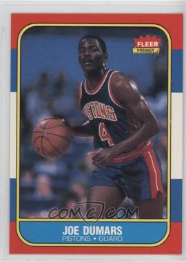 1986-87 Fleer - [Base] #27 - Joe Dumars