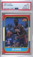 Joe Dumars [PSA/DNA Certified Encased]