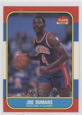 1986-87 Fleer - [Base] #27 - Joe Dumars