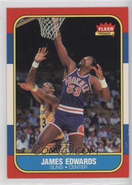 1986-87 Fleer - [Base] #29 - James Edwards