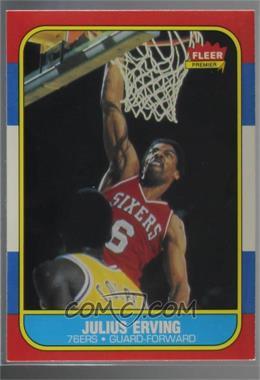 1986-87 Fleer - [Base] #31 - Julius Erving