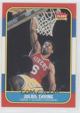 1986-87 Fleer - [Base] #31 - Julius Erving