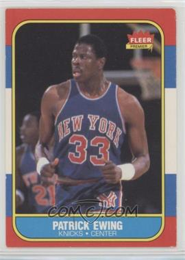 1986-87 Fleer - [Base] #32 - Patrick Ewing