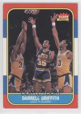1986-87 Fleer - [Base] #42 - Darrell Griffith