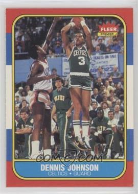 1986-87 Fleer - [Base] #50 - Dennis Johnson