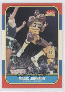 1986-87 Fleer - [Base] #53 - Magic Johnson