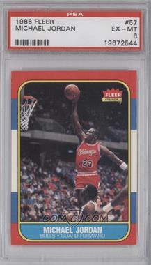 1986-87 Fleer - [Base] #57 - Michael Jordan [PSA6]