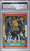 Maurice Lucas [PSA/DNA Certified Encased]