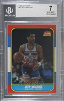 Jeff Malone [BGS 7 NEAR MINT]