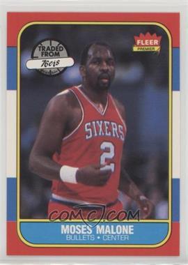 1986-87 Fleer - [Base] #69 - Moses Malone