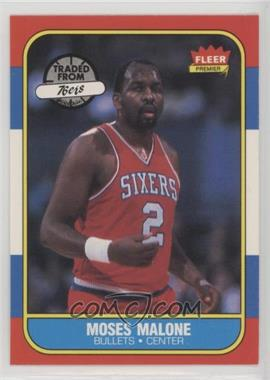 1986-87 Fleer - [Base] #69 - Moses Malone