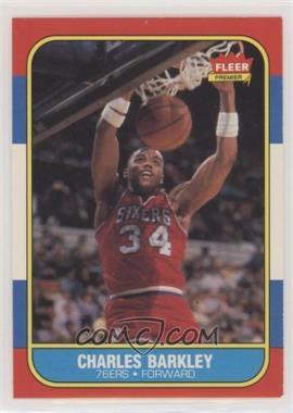 1986-87 Fleer - [Base] #7 - Charles Barkley