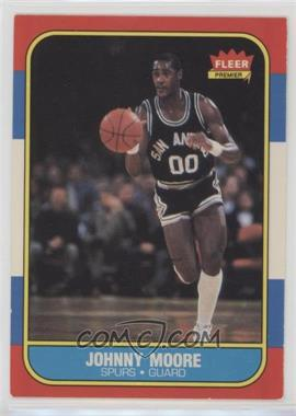 1986-87 Fleer - [Base] #76 - Johnny Moore [Noted]