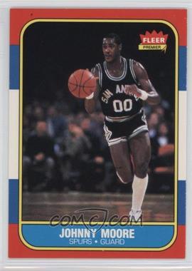 1986-87 Fleer - [Base] #76 - Johnny Moore