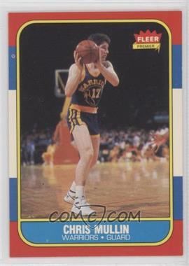 1986-87 Fleer - [Base] #77 - Chris Mullin