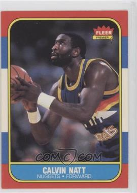 1986-87 Fleer - [Base] #79 - Calvin Natt