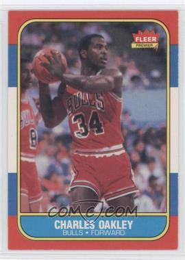 1986-87 Fleer - [Base] #81 - Charles Oakley