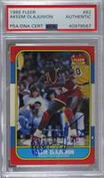 Akeem Olajuwon [PSA/DNA Certified Encased]