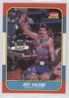 1986-87 Fleer - [Base] #96 - Jeff Ruland