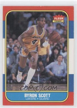 1986-87 Fleer - [Base] #99 - Byron Scott