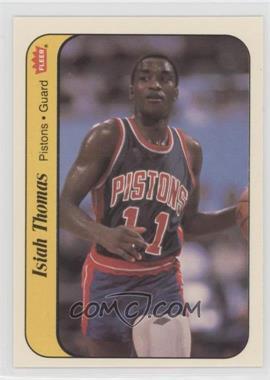 1986-87 Fleer - Stickers #10 - Isiah Thomas