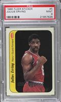 Julius Erving [PSA 9 MINT]