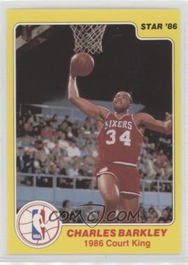 1986 Star Court Kings - [Base] #3 - Charles Barkley