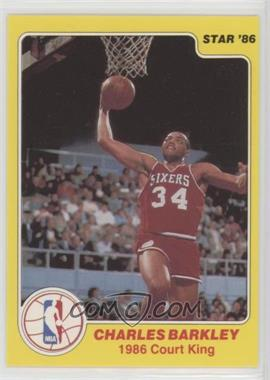 1986 Star Court Kings - [Base] #3 - Charles Barkley