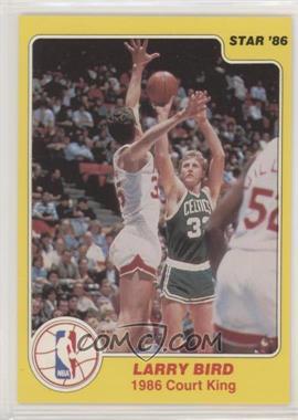 1986 Star Court Kings - [Base] #4 - Larry Bird
