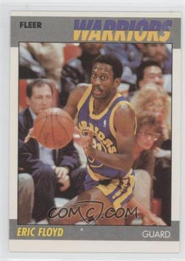 1987-88 Fleer - [Base] #39 - Eric Floyd