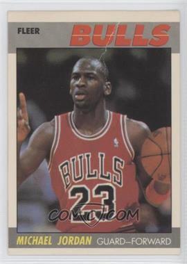 1987-88 Fleer - [Base] #59 - Michael Jordan