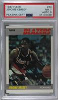 Jerome Kersey [PSA/DNA Certified Encased]
