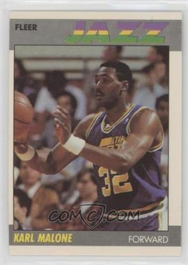 1987-88 Fleer - [Base] #68 - Karl Malone