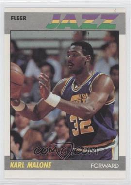 1987-88 Fleer - [Base] #68 - Karl Malone