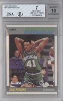 Sam Perkins [JSA Certified Encased by BGS]