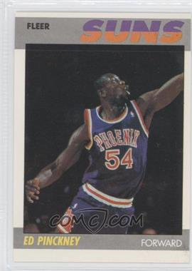 1987-88 Fleer - [Base] #88 - Ed Pinckney