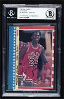 Michael Jordan [BAS Certified BGS Encased]