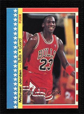 1987-88 Fleer - Stickers #2 - Michael Jordan