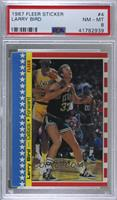 Larry Bird [PSA 8 NM‑MT]