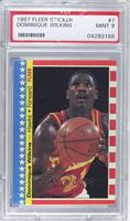 Dominique Wilkins [PSA 9]