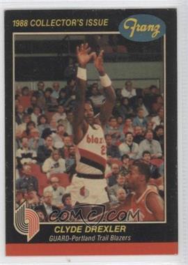 1987-88 Franz Portland Trail Blazers - [???] #1 - Clyde Drexler