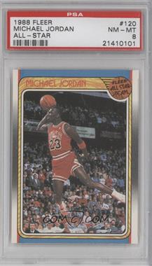 1988-89 Fleer - [Base] #120 - Michael Jordan [PSA 8]