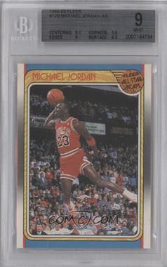 1988-89 Fleer - [Base] #120 - Michael Jordan [BGS9]
