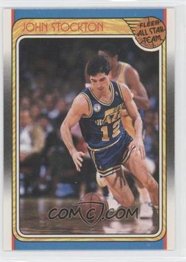 1988-89 Fleer - [Base] #127 - John Stockton