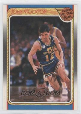 1988-89 Fleer - [Base] #127 - John Stockton